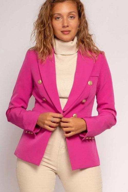 GOLDEN LOVE BLAZER Pink