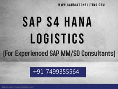 SAP S/4 HANA Logistics Videos