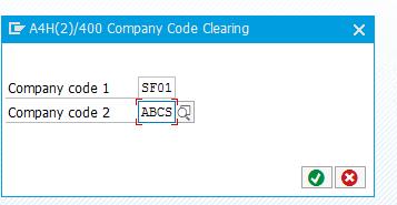SAP Cross Company Code Postings