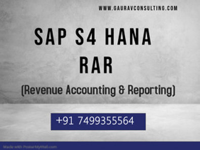 SAP Revenue Accounting & Reporting