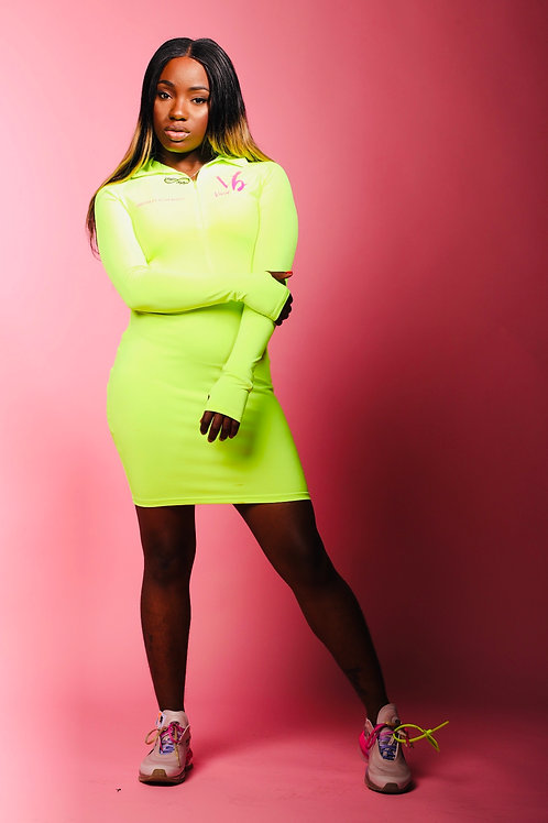 Slinky Slime Bodycon Dress