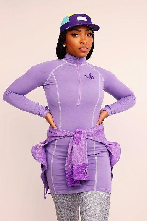 Powerful in Purple  Dress