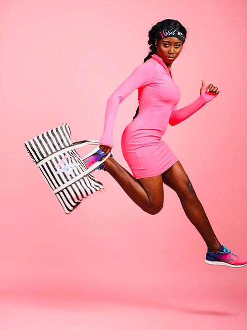 Slinky Pink Bodycon Dress