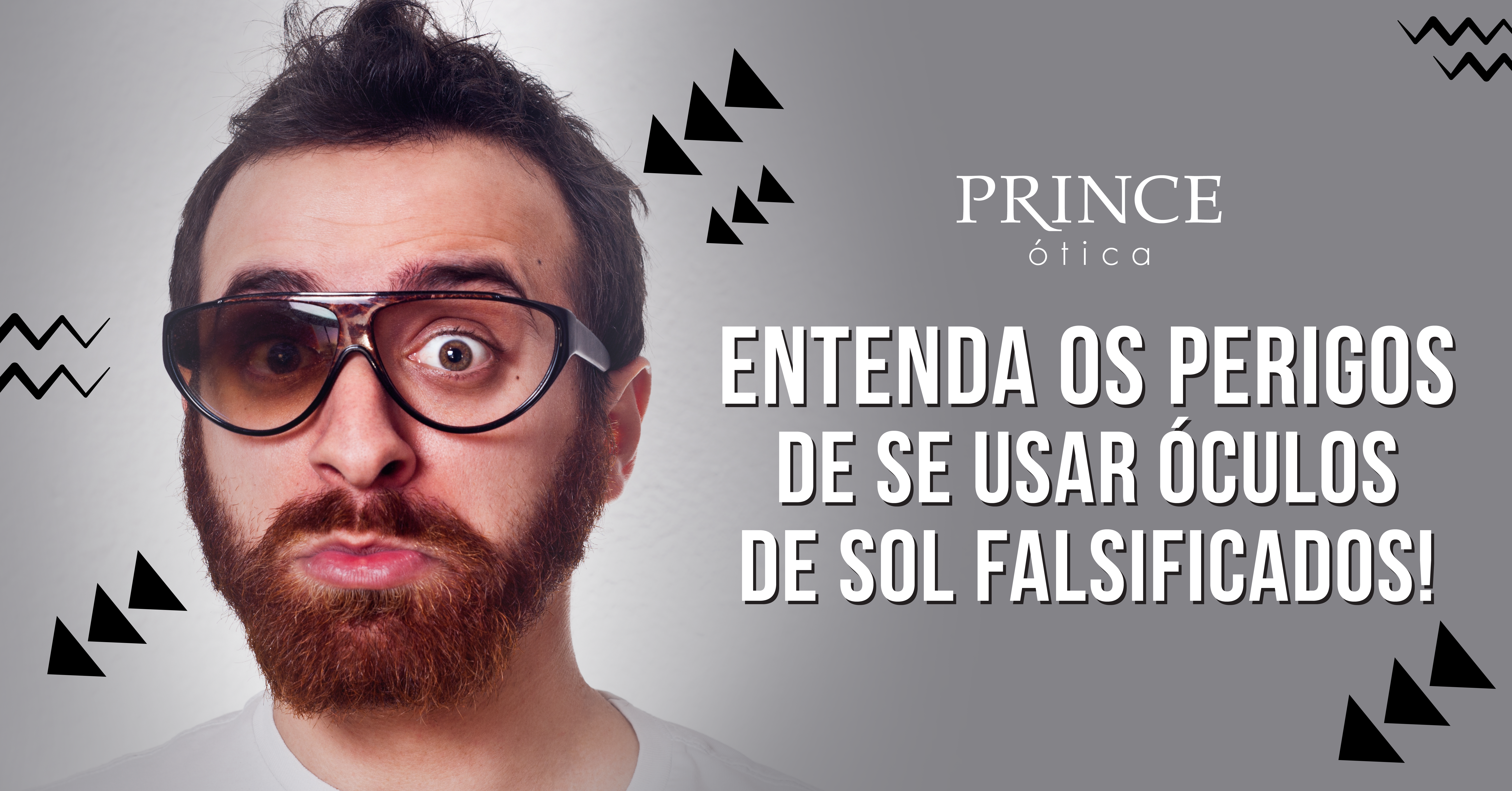 a5e502f48d2d1 Entenda os perigos de se usar óculos de sol falsificados!   Ótica Prince  Bauru