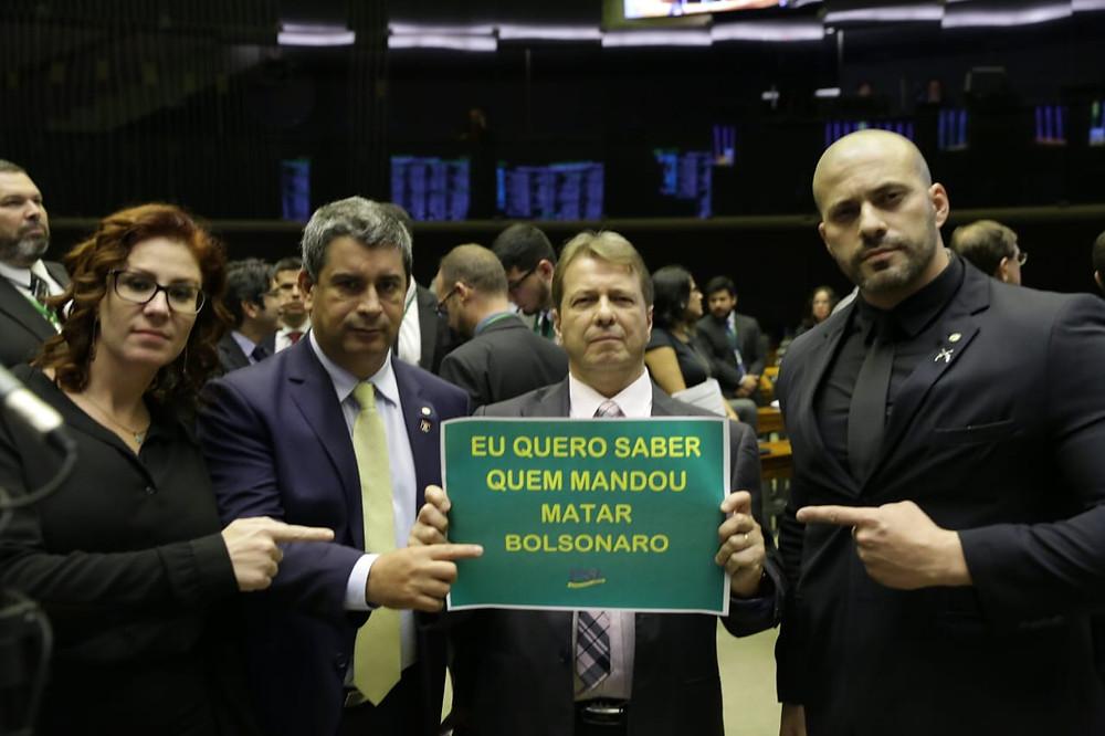 Campanha: Quem mandou matar Bolsonaro?
