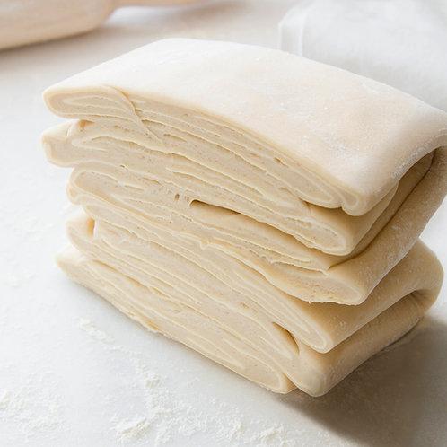 Pâte feuilletée pur beurre crue