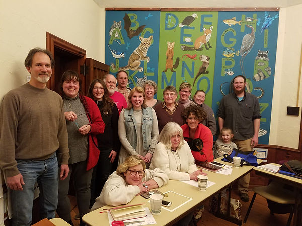 Landis Woods Art Show Committee Photo -