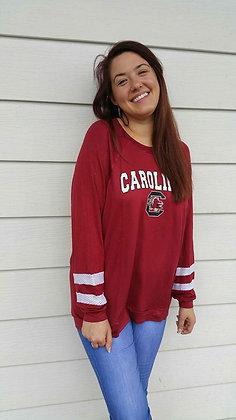 L/S Carolina Top (Garnet)