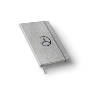 Mercedes Leather Notebook