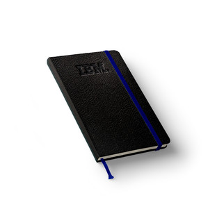IBM Leather Notebook