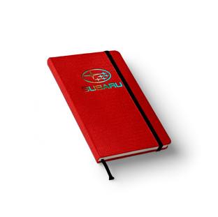 Subaru Textile Notebook