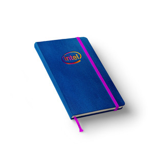 Intel Leather Notebook