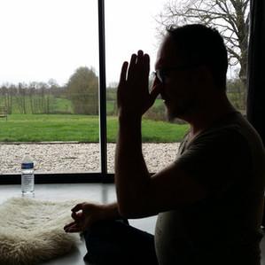Cours de Kundalini Yoga ce matin au Chromatic