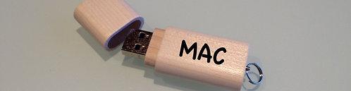 Daten auf USB-Stick Mac:  PLUS