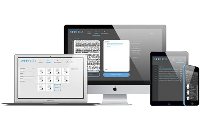 pantallas moondesk