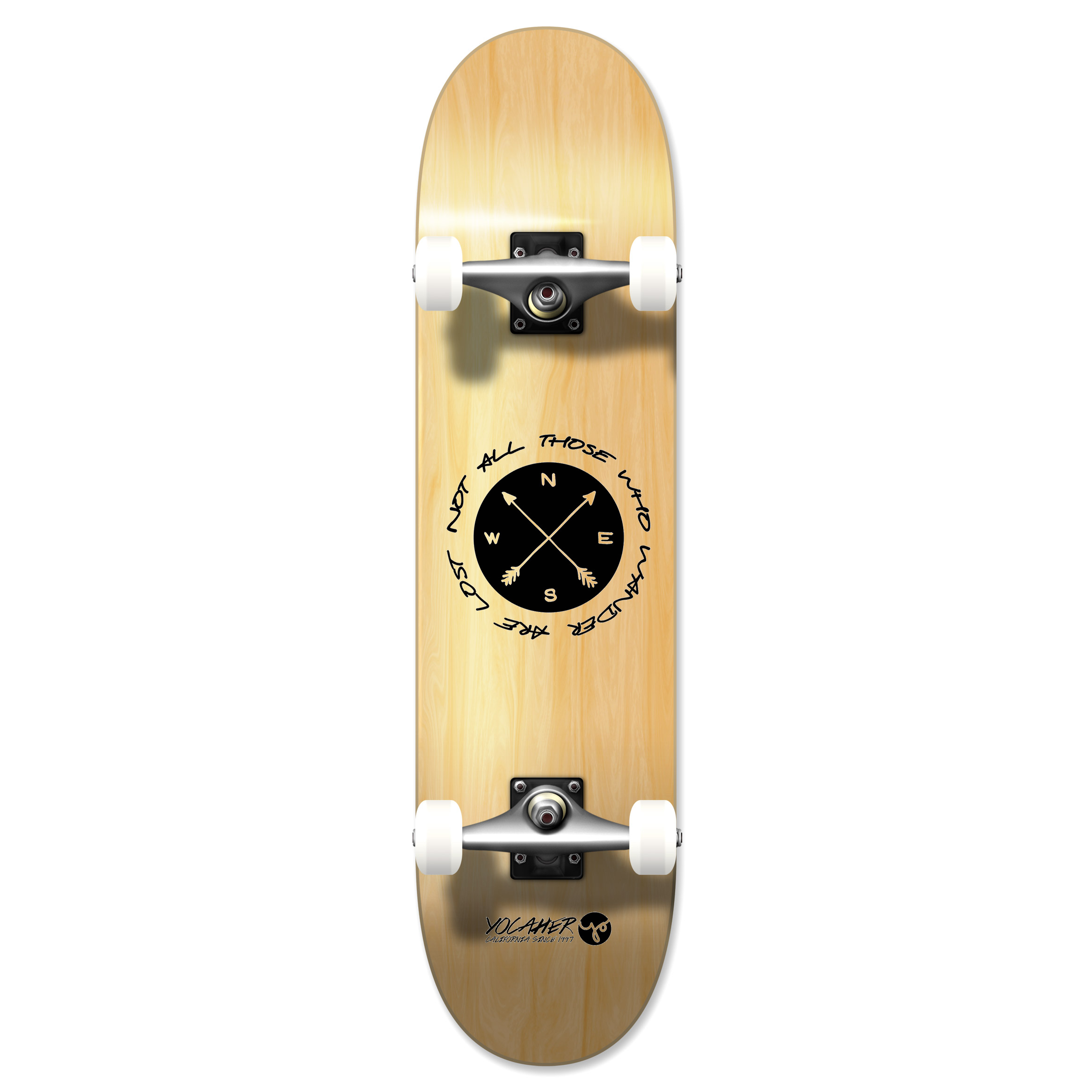 Wander Natural Skateboard