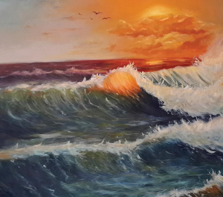 Wave Scene