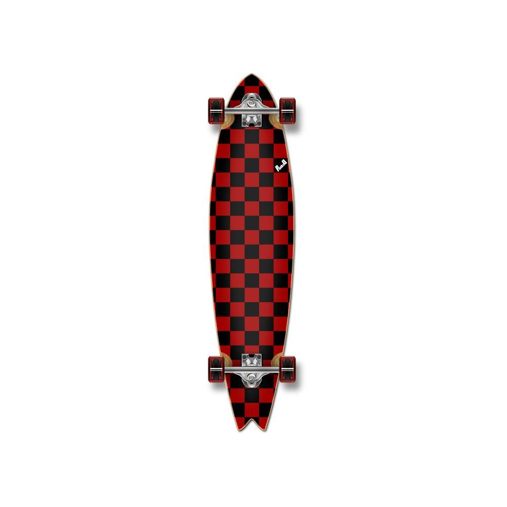 Checker Red - Fishtail