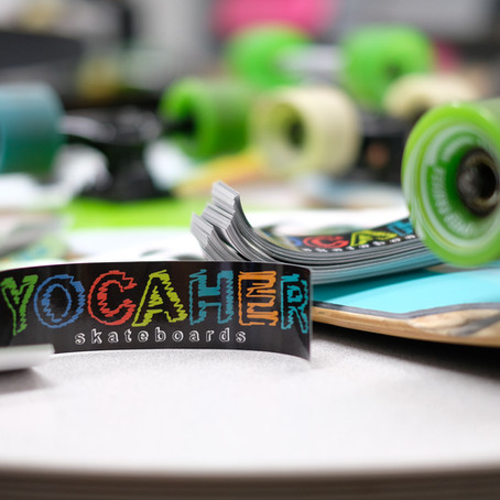 how to receive free stickers from yocaher