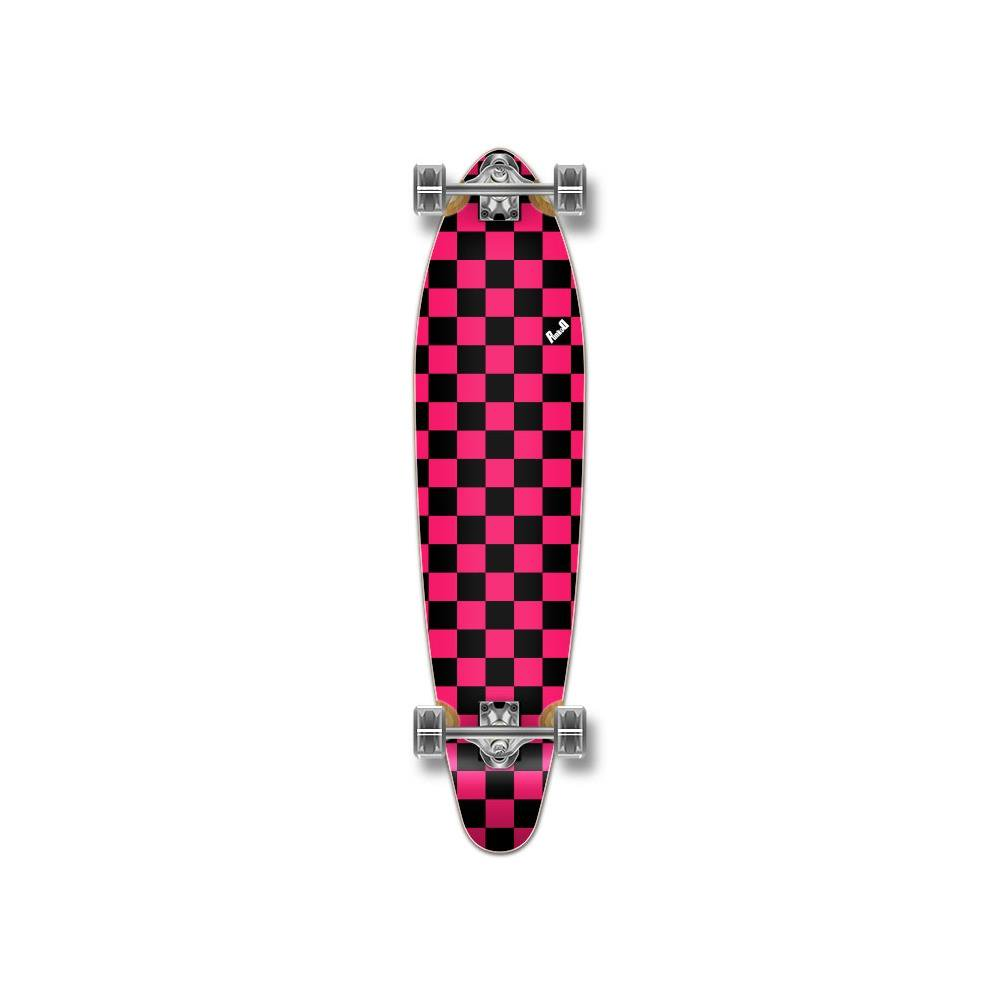 Checker Pink - Kicktail