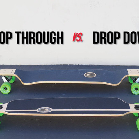 What's the Difference? Drop through vs. Drop down