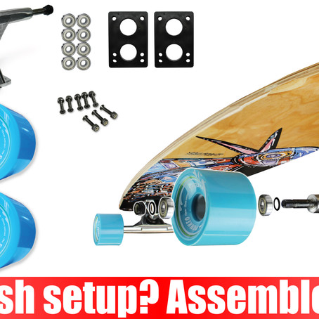 Longboard Combo Kit: making old new again