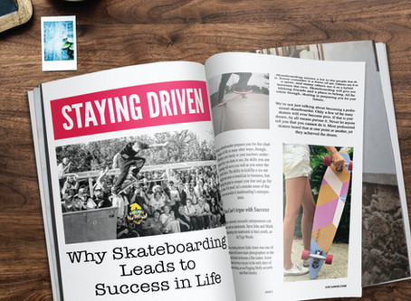 Staying Driven:  Why Skateboarding Leads to Success in Life