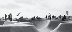 Skate park in Chino California
