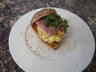 Chilli Scrambled Eggs with Sourdough