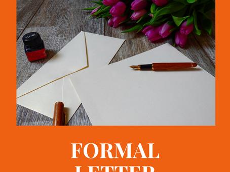 Официальные письма