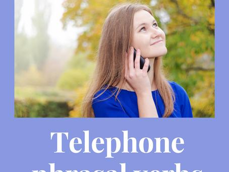 Фразовые глаголы для телефонного разговора