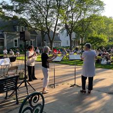 Flute Trio on Milwaukee Avenue Mpls