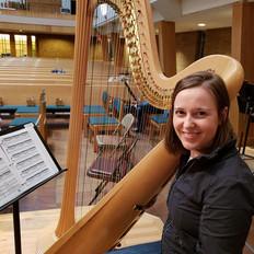 Emily Gerard, Harp