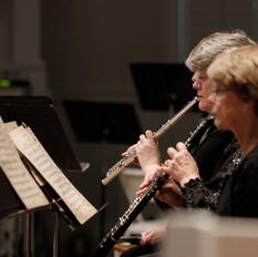 Cheri Hansen, English horn and Rachel Hest, flute