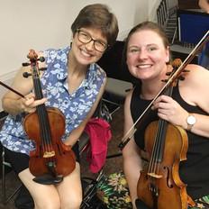 Carolyn Liptak, Violin and   Stephanie Hellekson, Viola