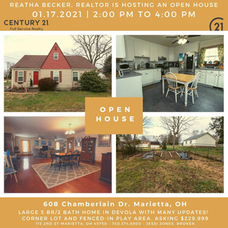 OPEN HOUSE 1/17