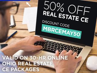50% off Ohio CE Online Courses