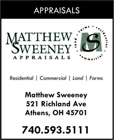 Matthew Sweeney Appraisals