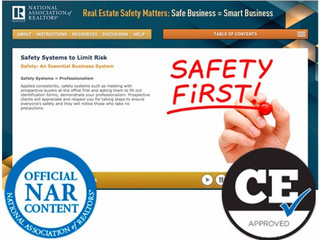 Real Estate Safety Course Available