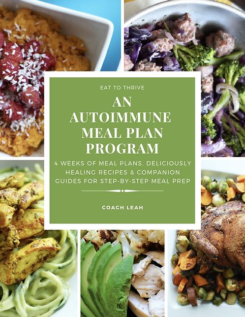 4 (+1 Bonus) Weeks of Autoimmune Meal Plans & Planning Guides for 4 People