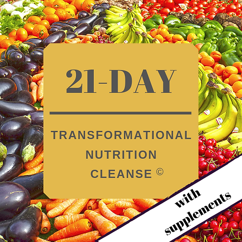 Transformational Cleanse + Supplements & Shakes