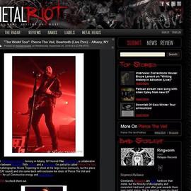 @metalriot @piercetheveil #magazines #fe