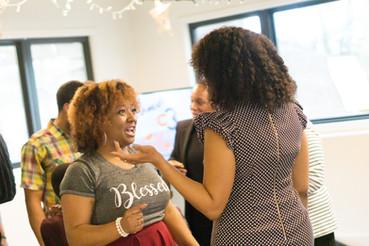 Malissa and Raquel Talking.jpg