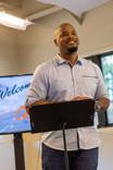 Pastor Damon Davis Smiles