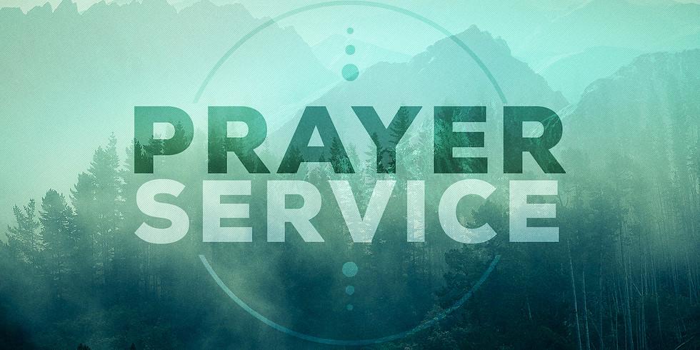 Saturday Prayer Service (Gratitude Meeting)