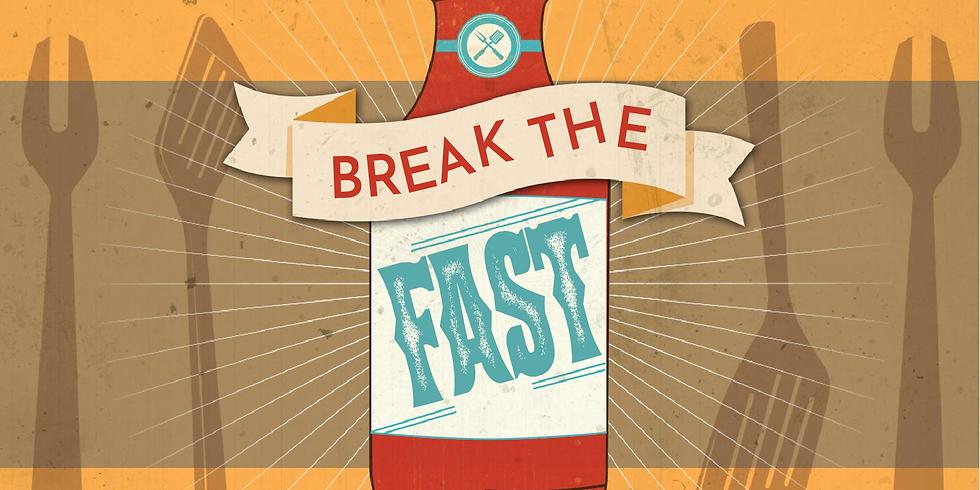 Break The Fast Sunday Lunch