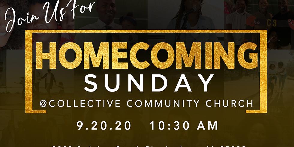 HOMECOMING SUNDAY AT C3