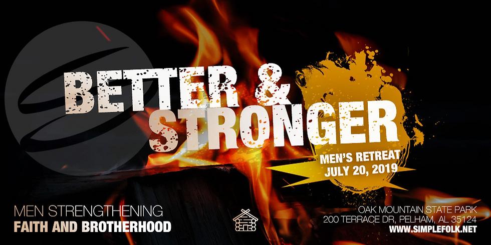 Better And Stronger Men's Retreat