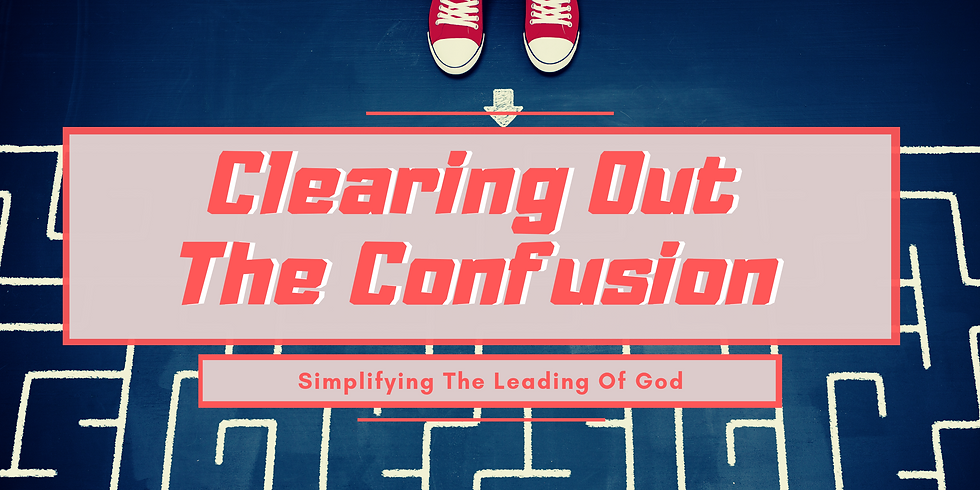 Clearing Out The Confusion