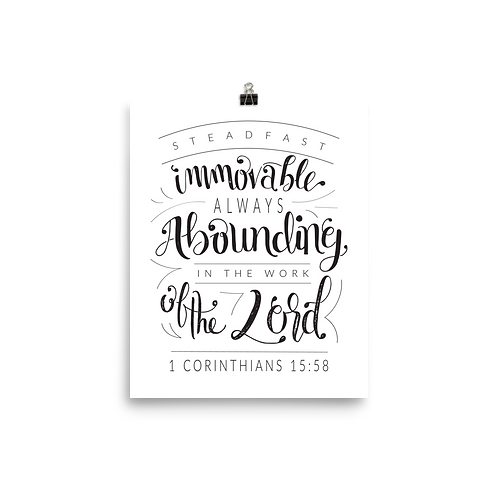 Steadfast Immovable